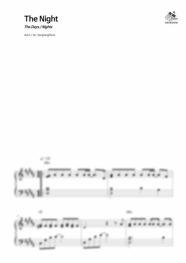 Avicii - The Night by 상상피아노