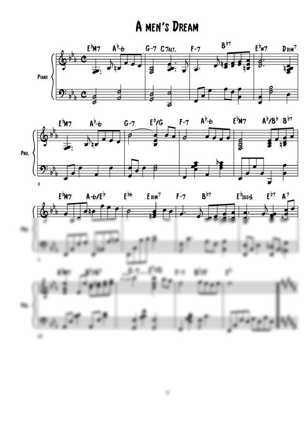 디플랫(염다빈) - a man's dream by 디플랫