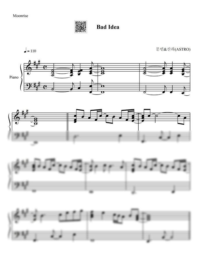 문빈&산하 (ASTRO) - Bad Idea by Moonrise