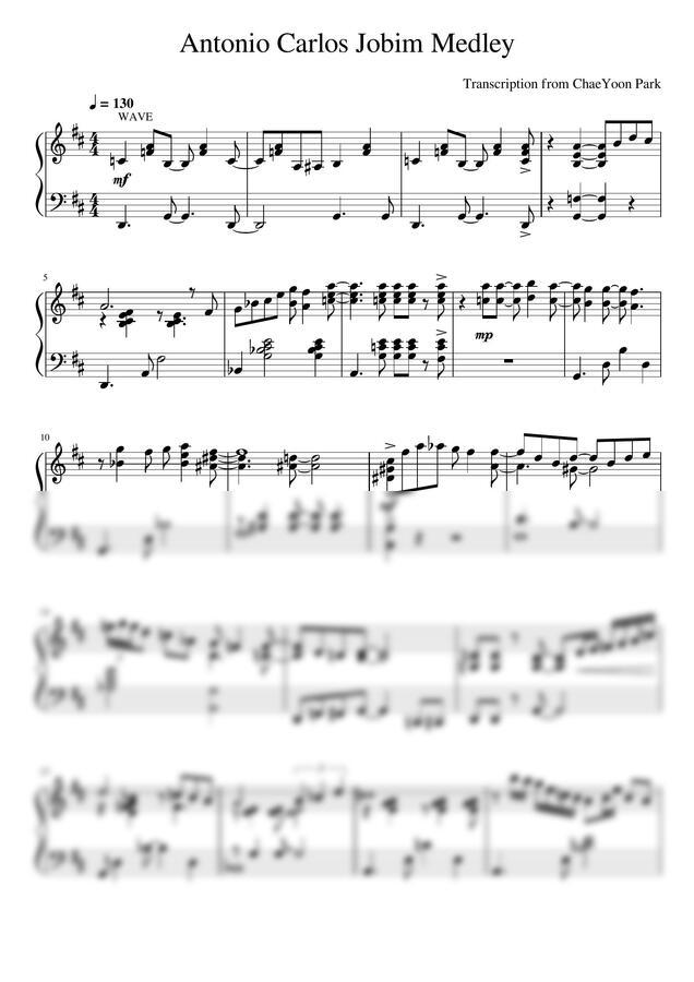 Antonio Carlos Jobim - Medley by CoverLala