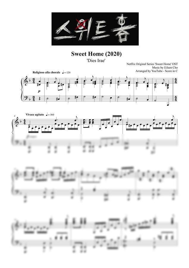 스위트홈 OST - Dies Irae (오프닝) (풀버전) by Score in C